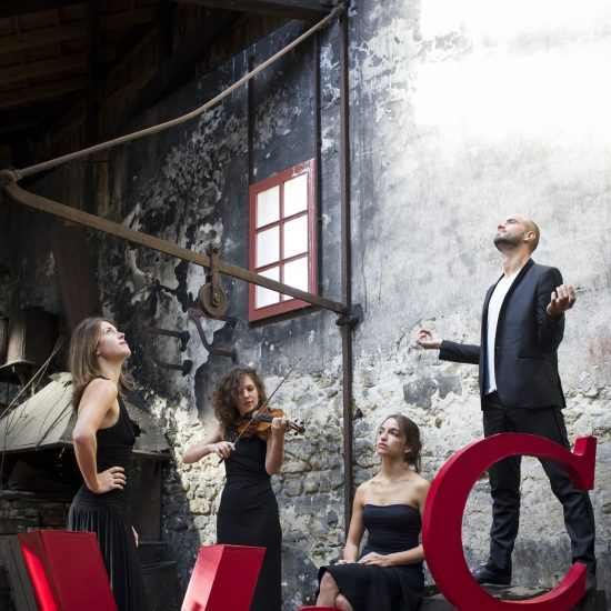 Quatuor Voce © Sophie Pawlak